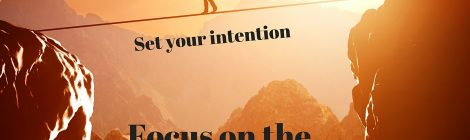 Fear, Intuition & Intention, Oh My!!